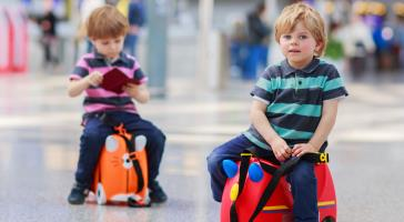 Children travelling alone